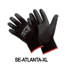 Atlanta Black PU Gloves