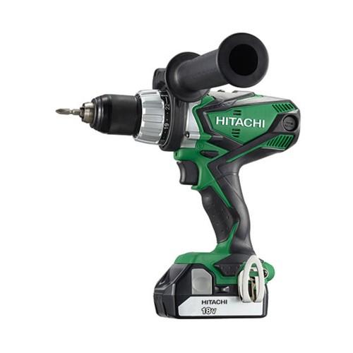 Hitachi 18v Combi Drill (2.5Ah Batteries)