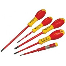 Insulated Phillips & Parallel Screwdriver Set of 5