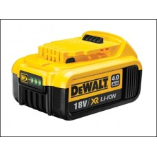 DEWALT 4AH 18 Volt DCB18 XR Slide Li-Ion Battery.