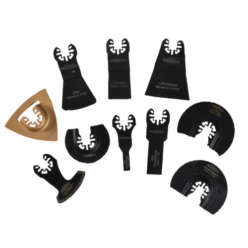 Multi-Function Tool Mixed Blade Set of 10