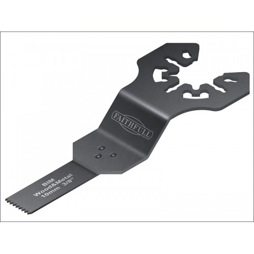 Multi-Functional Tool Bi-Metal Flush Cut Wood/Metal Blade 10mm